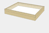 Lime wood drawer - 40 x 50 x 6 cm, with plastazote foam