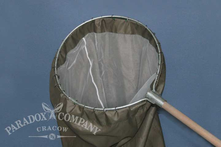 Heavy - Duty Sweep Net, rounded, camo bag